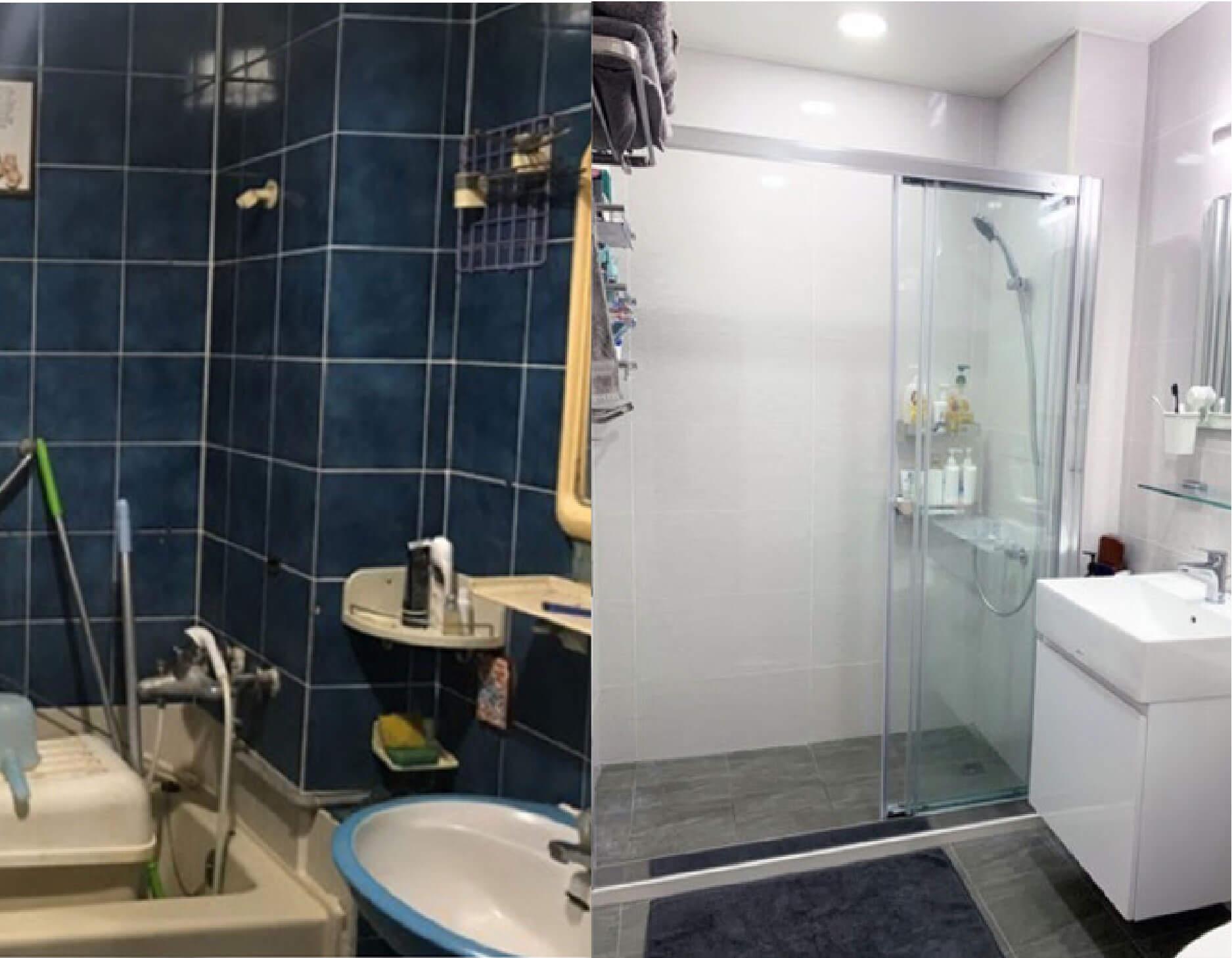 開箱-近50年老浴室改造-一太e衛浴