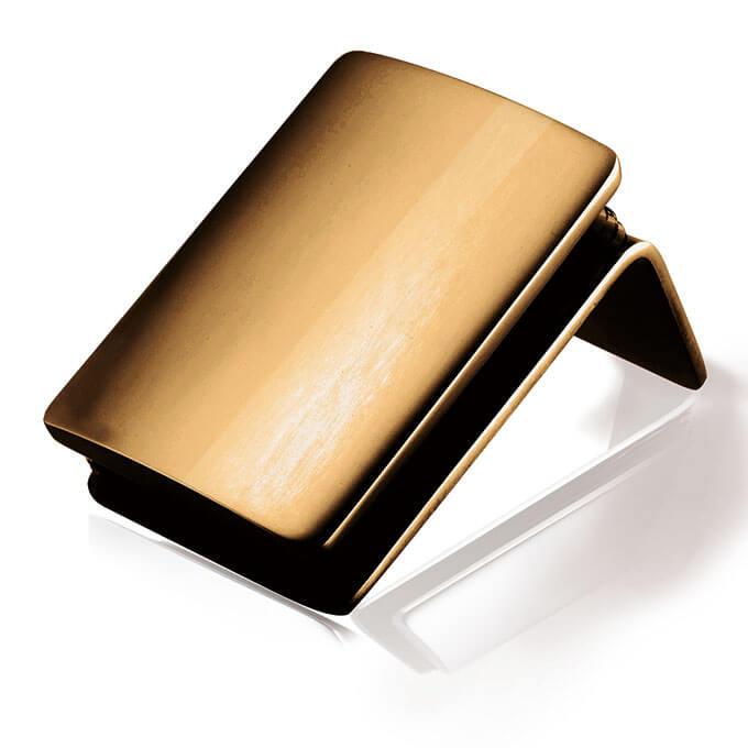一太淋浴門 鍍鈦鏡面紅金